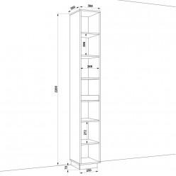 Шкаф распашной HOLD №01