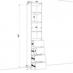 Шкаф распашной HOLD №05