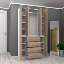 Шкаф распашной HOLD №17