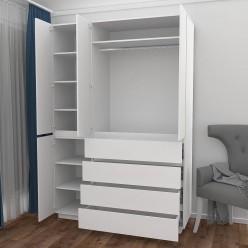 Шкаф распашной HOLD №42