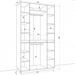 Шкаф распашной HOLD №43