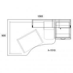 Компьютерный стол «Тиса-02»