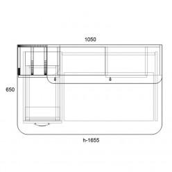 Компьютерный стол «Тиса-26»