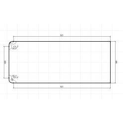 Стол приставной СП-02